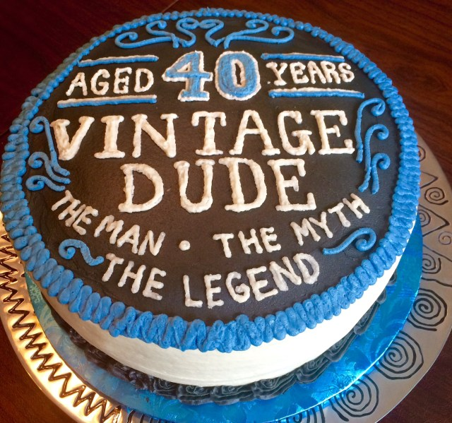 Groovy 30 Marvelous Picture Of 40Th Birthday Cake Ideas For Him Funny Birthday Cards Online Overcheapnameinfo