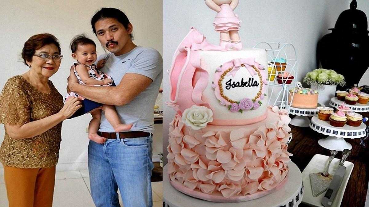 6 Month Birthday Cake Ba Isabellas 6 Months Old Birthday Celebration Youtube
