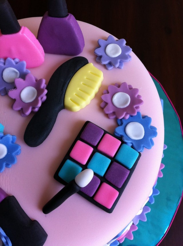 7 Year Old Birthday Cake 6 Year Old Girl Birthday Cakes Spa Themed Birthday Cake For A 7