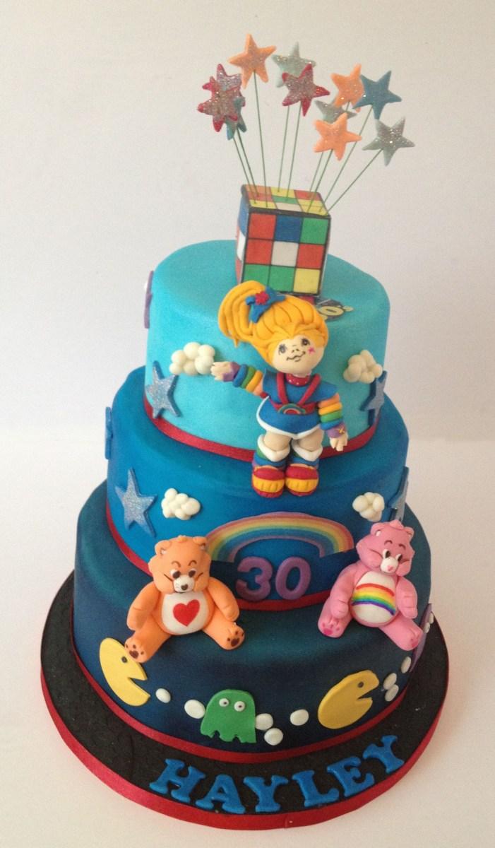 Marvelous 80S Birthday Cake 80S 30Th Birthday Theme Cakes 80S Themed Cake Funny Birthday Cards Online Elaedamsfinfo
