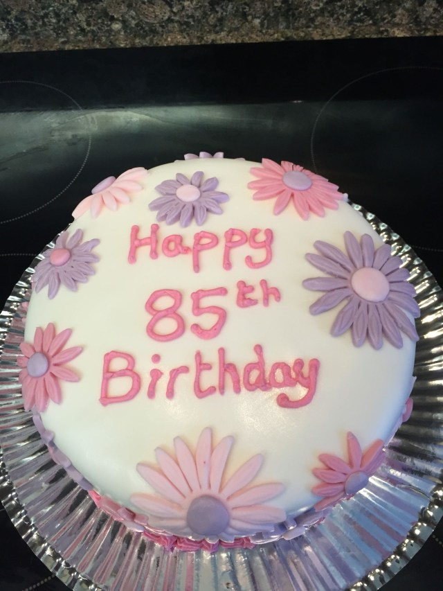 85Th Birthday Cake 85th Cakes Pinterest And