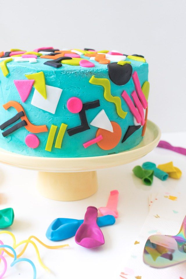 90S Birthday Cake Throwback Tie Dye 90s Inspired Cake Club Crafted