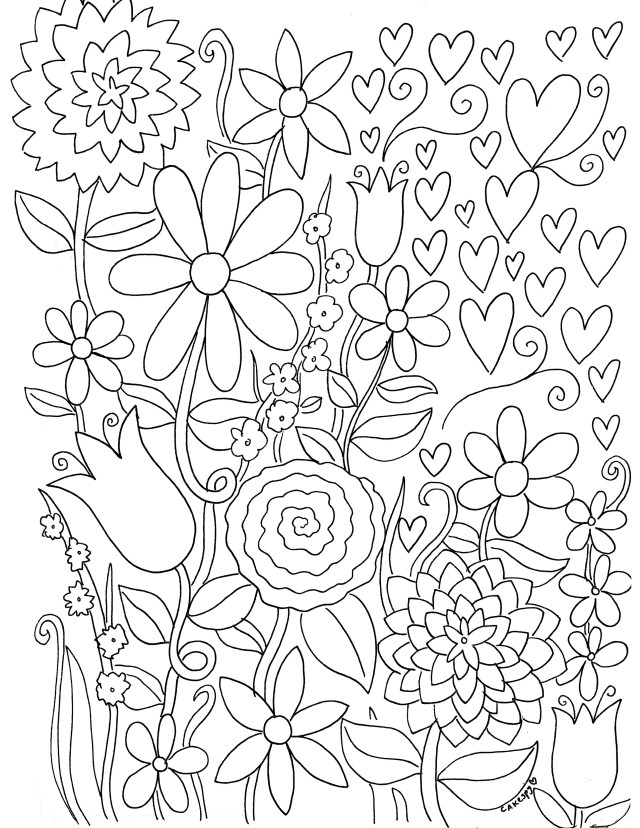 Adult Free Coloring Pages Free Coloring Book Pages For Adults