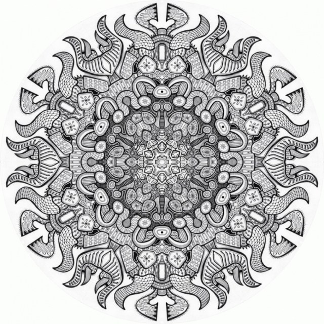 Advanced Mandala Coloring Pages Advanced Mandala Coloring Pages 82 With 970970 Attachment