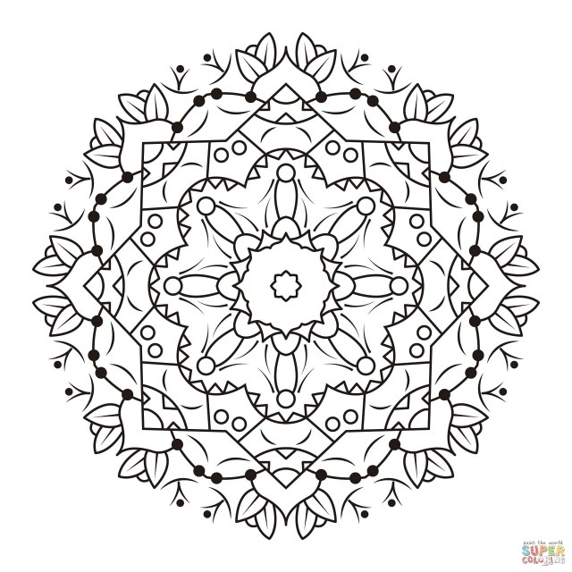 Advanced Mandala Coloring Pages Advanced Mandala Coloring Pages Betweenpietyanddesire
