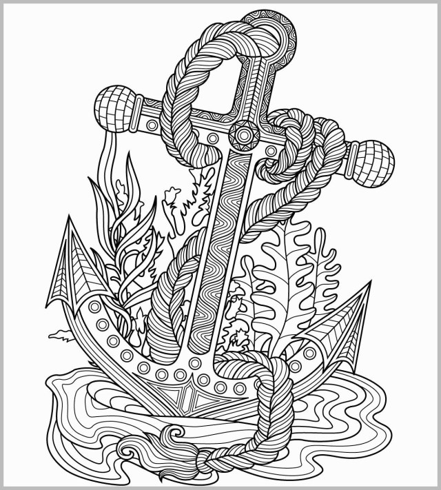 Anchor Coloring Page Anchor Coloring Page Best Anchors Coloring Pages Free Best Of