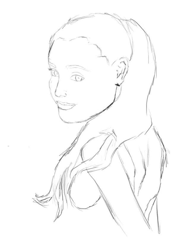 Ariana Grande Coloring Pages Ariana Grande Coloring Pages Fan Drawing Get Coloring Page