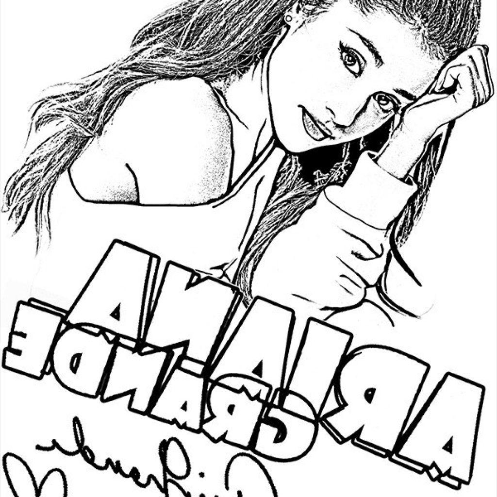 Ariana Grande Coloring Pages Ariana Grande Coloring Pages Free Printable Coloring Pages For You Birijus Com