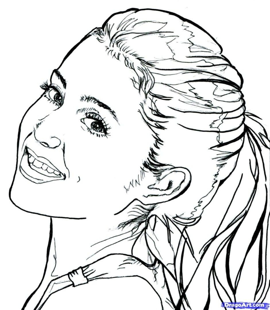 Ariana Grande Coloring Pages New Of Ariana Grande Coloring Pages Pics Page With Printable