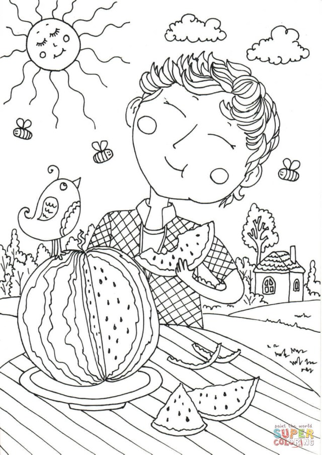 Creative Image Of August Coloring Pages Birijus Com