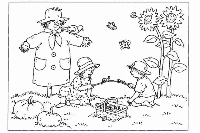 Autumn Coloring Pages With Kindergarten Fall Coloring Pages Best Coloring Pages Collection