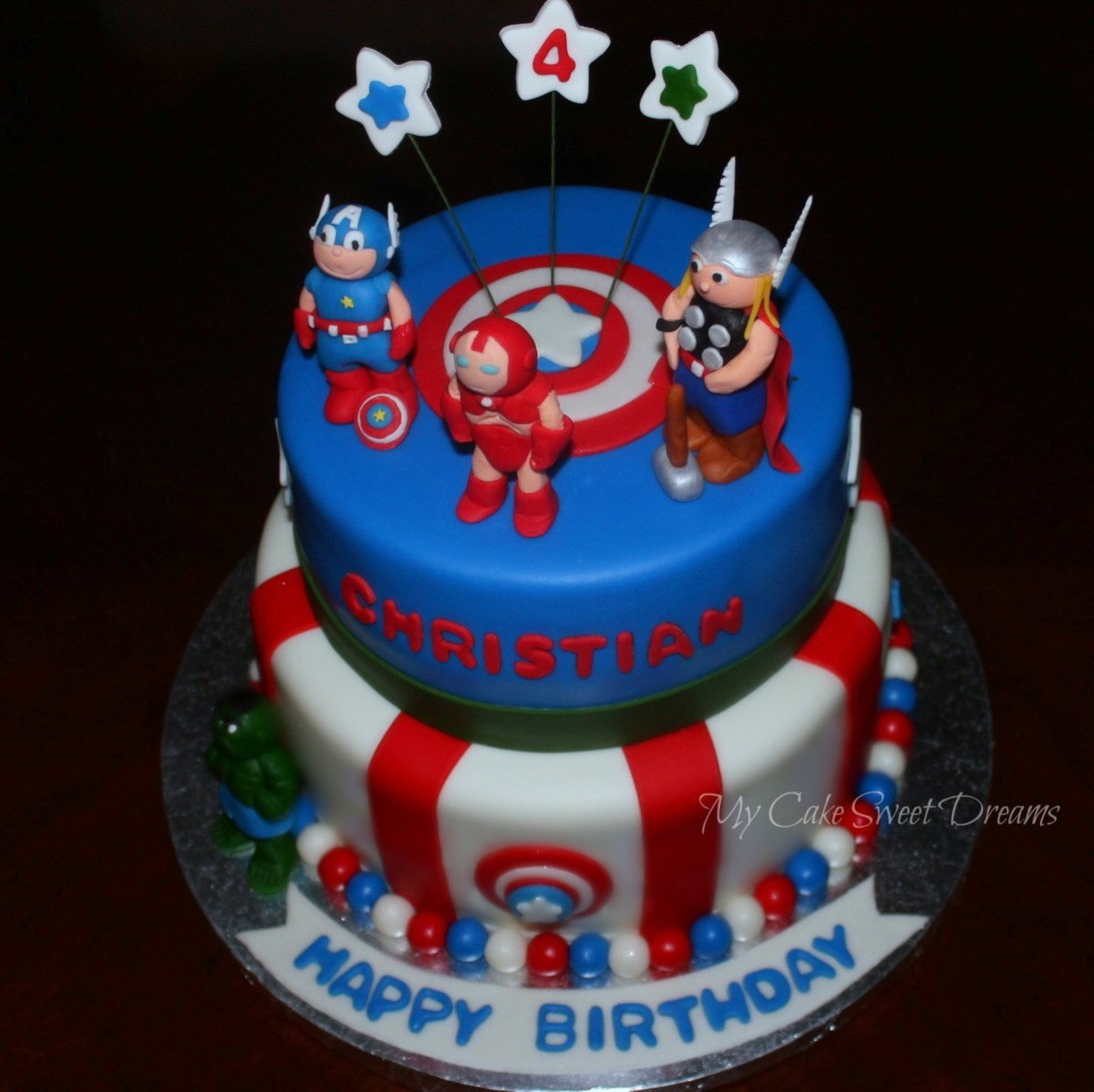 Swell Avengers Birthday Cake Avengers Birthday Cake Cake Decorating Funny Birthday Cards Online Alyptdamsfinfo