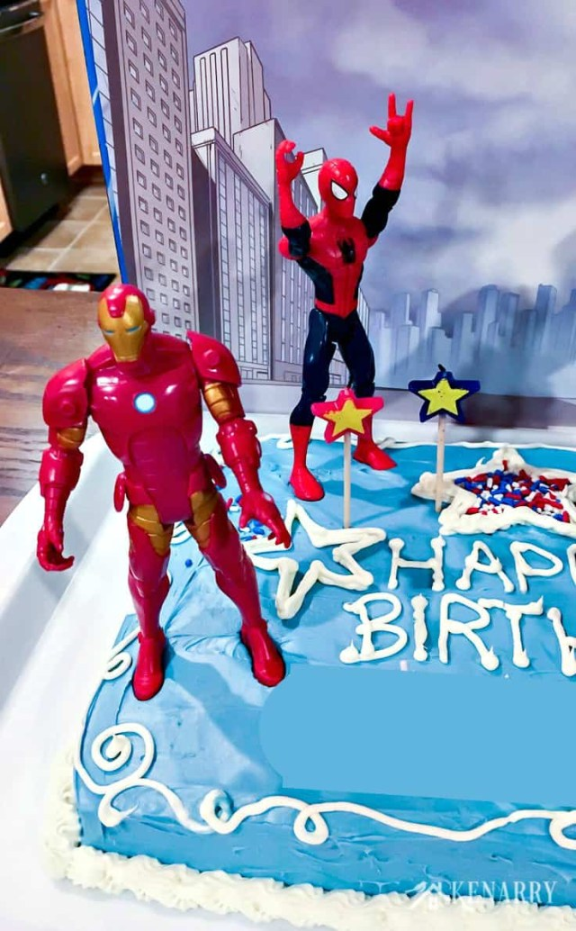 Avengers Birthday Cake Avengers Birthday Cake Idea And Party Supplies Kenarry