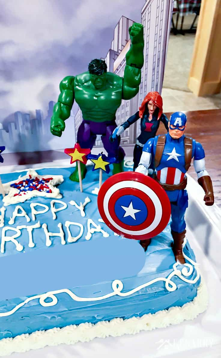 Excellent Avengers Birthday Cake Avengers Birthday Cake Idea And Party Funny Birthday Cards Online Alyptdamsfinfo
