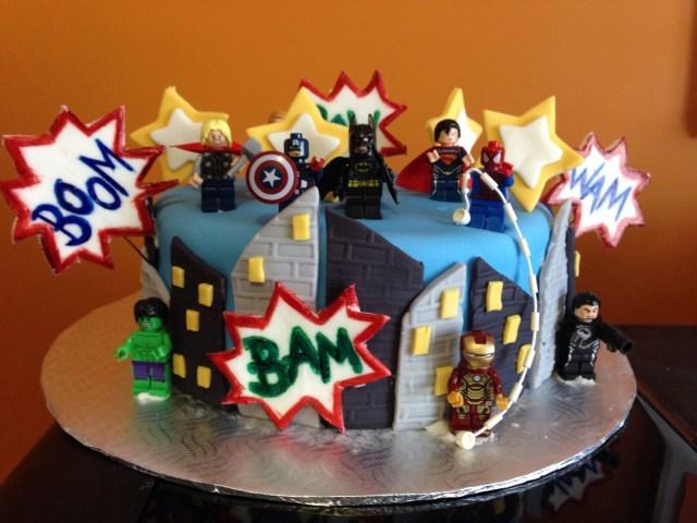 Avengers Birthday Cake Avengers Lego Birthday Cake Lj Lego Bday Party In 2019 Pinterest