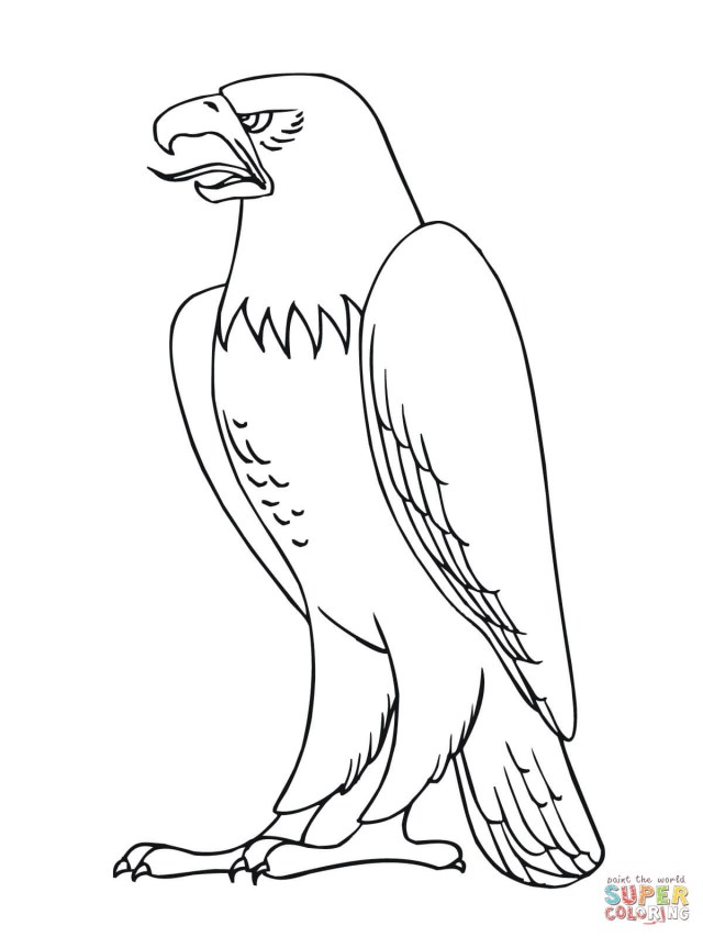 Eagle Coloring Pages | Playing Learning | 853x640