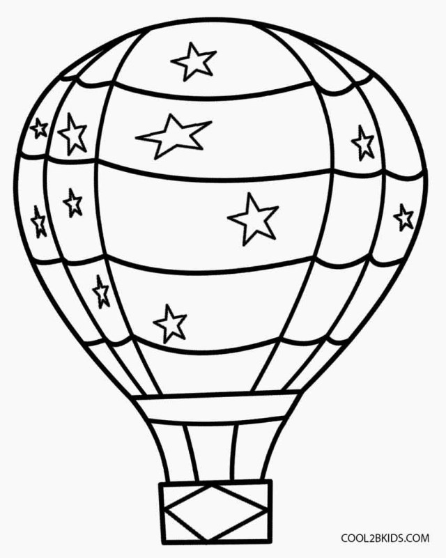 Balloon Coloring Pages Balloon Coloring Pages At Getdrawings Free For Personal Use