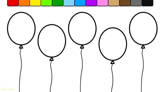 Balloon Coloring Pages Hot Air Balloon Coloring Pages Free Large Images Denenecek New Page