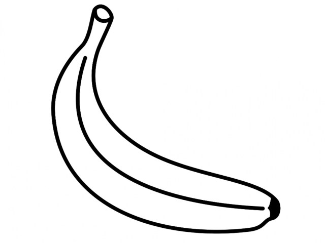 Banana Coloring Page Banana Coloring Page For Kids 14531090 Attachment Cosmo Scope