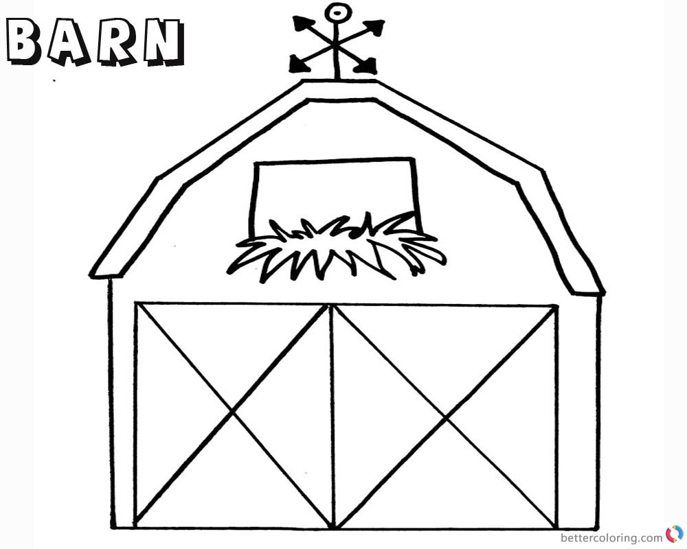 Barn Coloring Pages Barn Coloring Page Democraciaejustica Unique Barn Coloring Pages Birijus Com