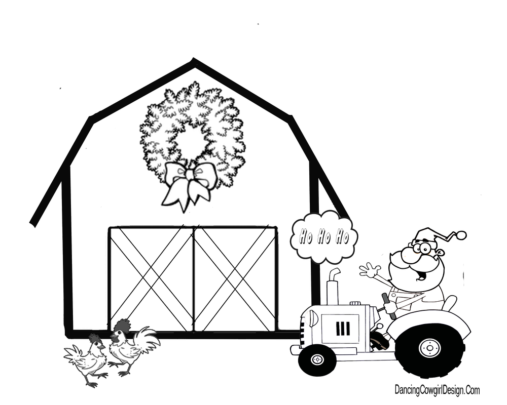 Barn Coloring Pages Christmas Barn Coloring Page 2019 Open Coloring Pages Birijus Com