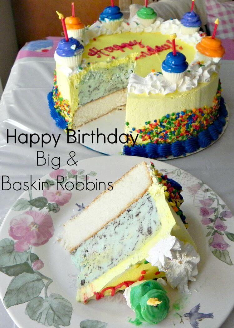 Admirable Baskin Robbins Birthday Cakes Birthdays And Baskin Robbins Feeding Funny Birthday Cards Online Elaedamsfinfo