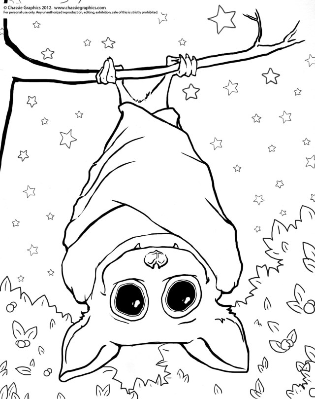 Bat Coloring Pages Coloring Page Bat Free Draw To Color For Bats Pages Cute