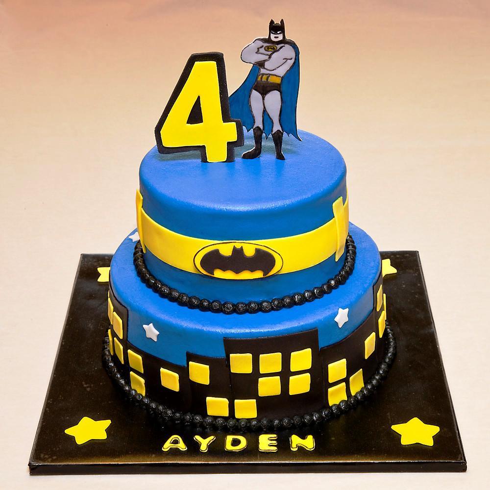 Tremendous Batman Birthday Cakes Batman Birthday Cake Protoblogr Design Birthday Cards Printable Opercafe Filternl