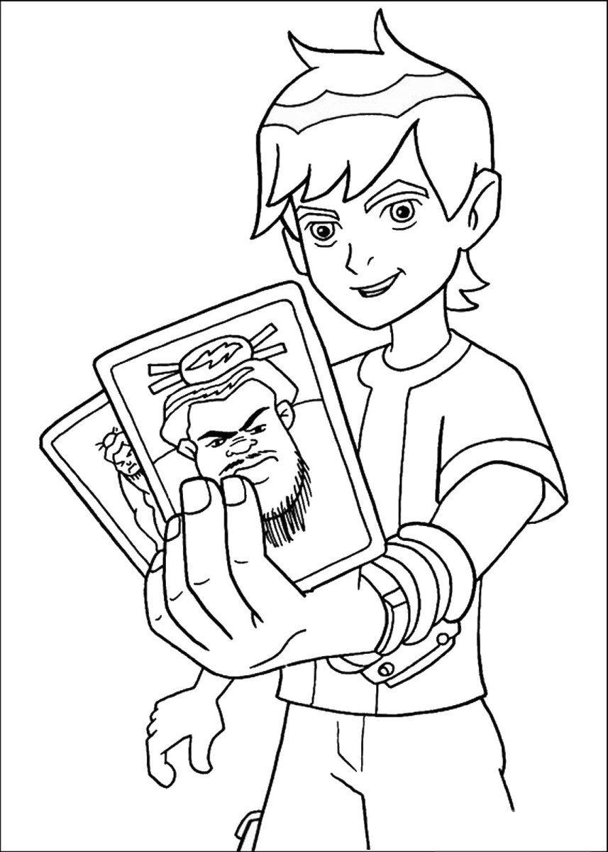 Ben 10 Coloring Pages Free Printable Ben 10 Coloring Pages for ... | 1200x857