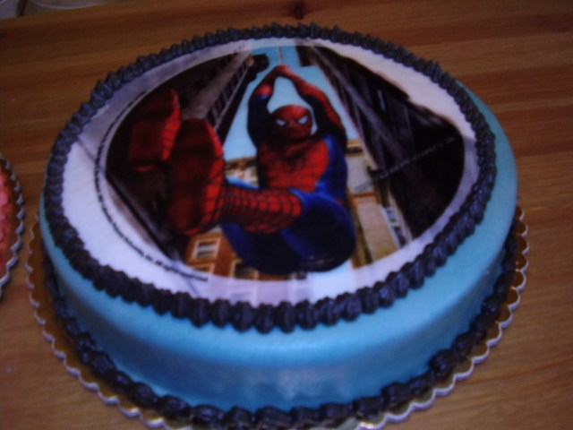 Birthday Cake For 12 Year Old Boy Spiderman Birthday Cake Dream Of Cakes