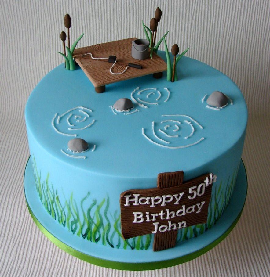 Fine Birthday Cake For Him 50Th Birthday Cake Ideas Birijus Com Personalised Birthday Cards Veneteletsinfo
