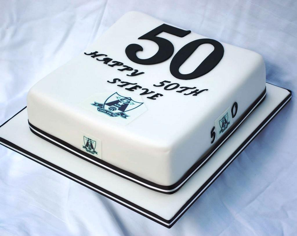 Wondrous Birthday Cake For Him 50Th Birthday Cakes For Men The Funny Ideas Personalised Birthday Cards Veneteletsinfo
