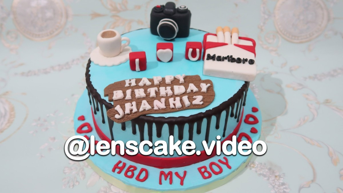 Admirable Birthday Cake For Him How To Make Birthday Cake For Boyfriend Funny Birthday Cards Online Inifodamsfinfo