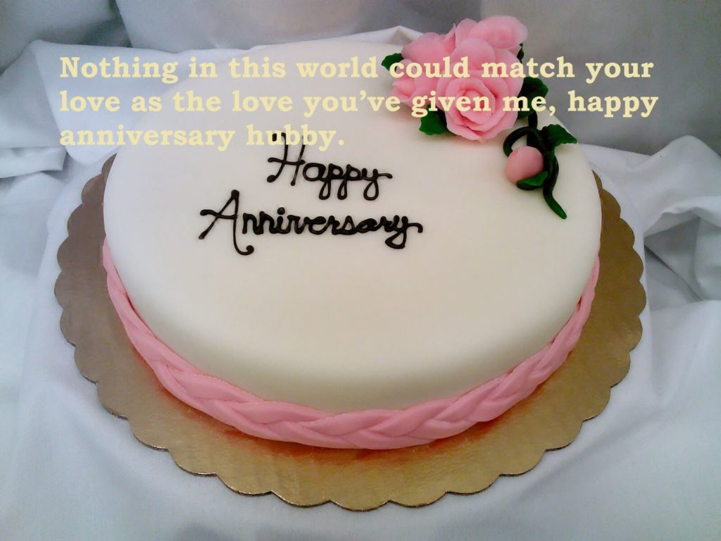 Excellent Birthday Cake For Husband Marriage Anniversary Cute Cake Love Funny Birthday Cards Online Overcheapnameinfo