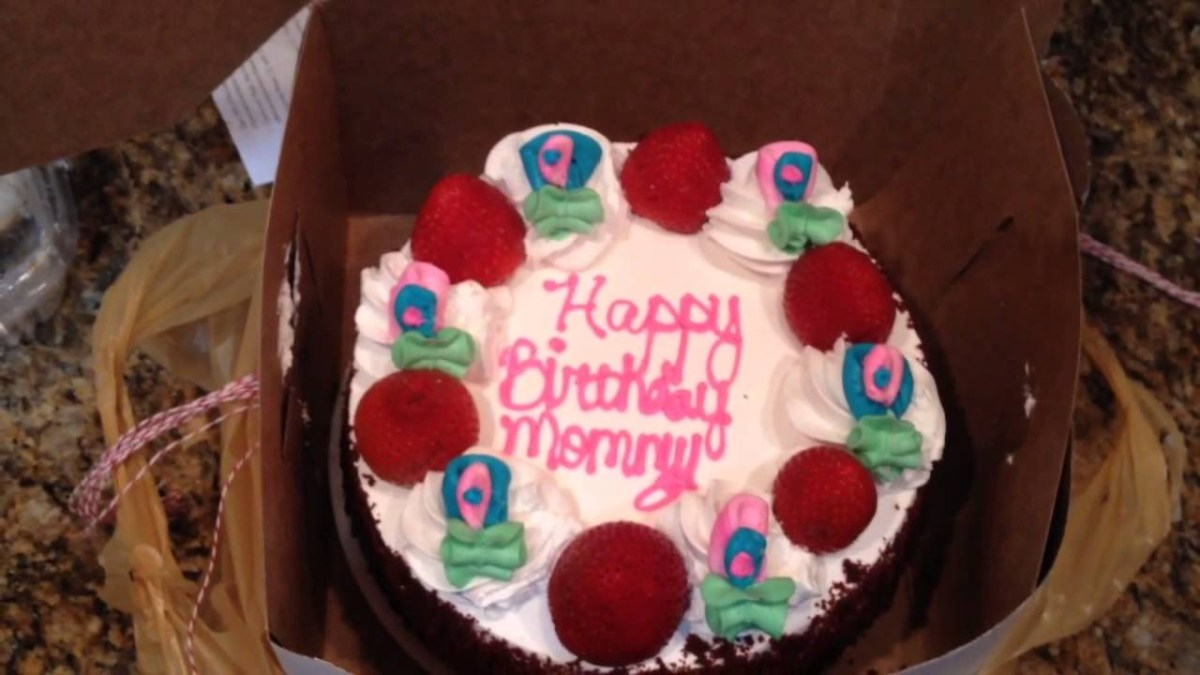 Peachy Birthday Cake For Mom Happy Birthday Mommy Cake Mom Youtube Birthday Cards Printable Opercafe Filternl