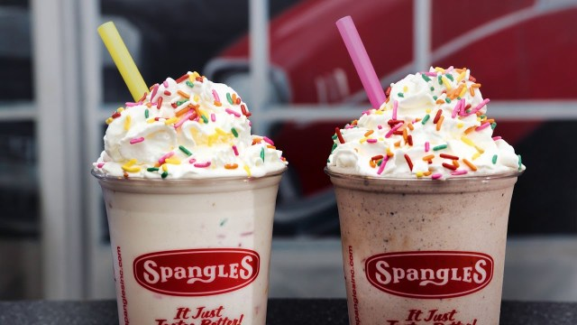 Birthday Cake Frappe Spangles Birthday Cake Shakes 2018 Youtube