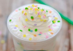 Birthday Cake Frappuccino Recipe Starbucks Birthday Cake Frappuccino Secret Menu Recipe Drinks