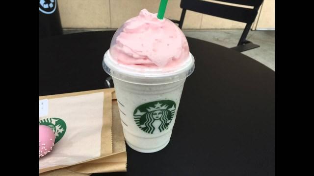 Birthday Cake Frappuccino Recipe Starbucks Birthday Cake Frappuccino Youtube