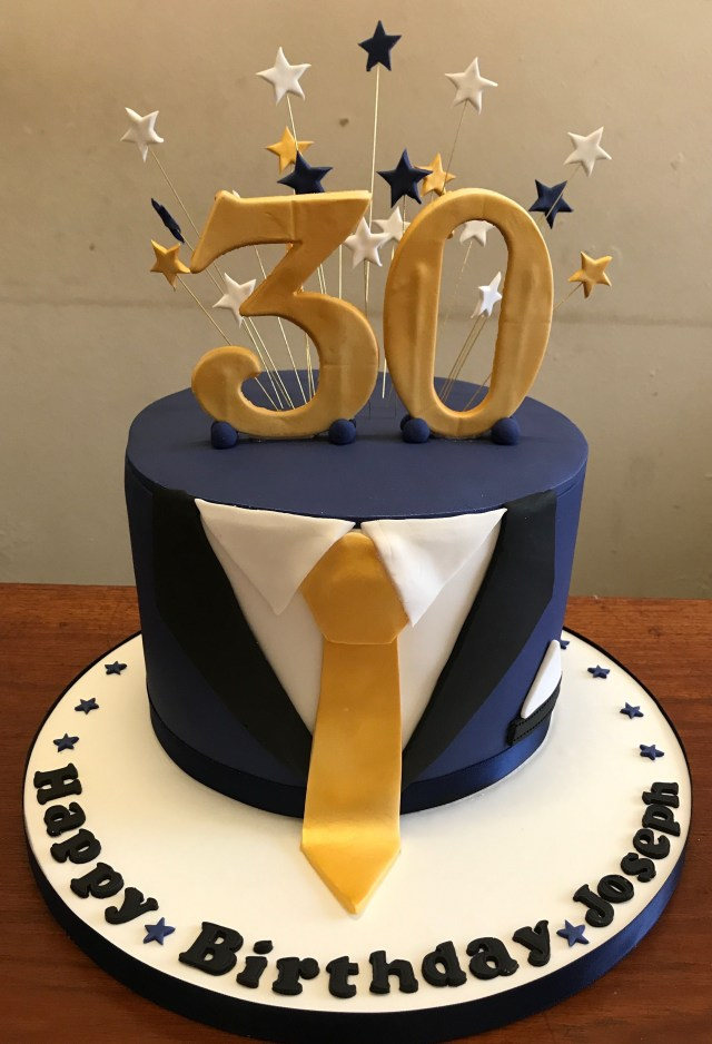 Birthday Cake Pictures For Man Tuxedo 30th Birthday Cake Thedanesbakery Tolletorten In 2018