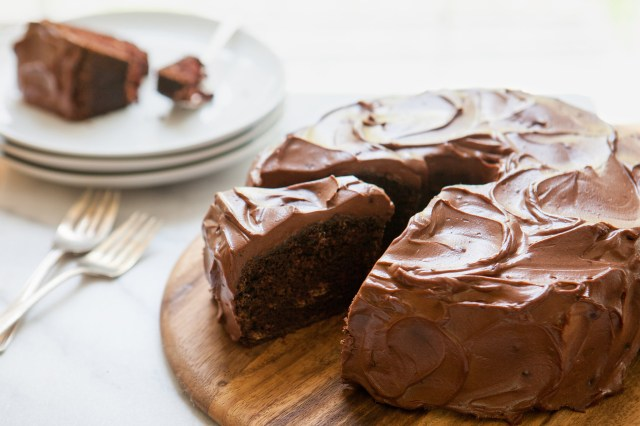 Birthday Cake Recipes For Adults Chocolate Dump It Cake Recipe Nyt Cooking