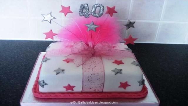 Birthday Cakes For Ladies 40th Birthday Cakes Birthday Cakes For 40th Birthday Celebration