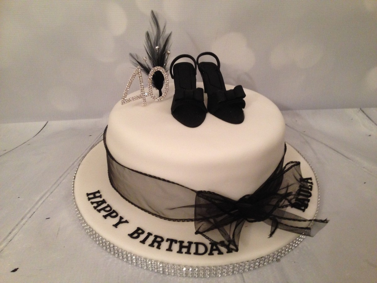 Birthday Cakes For Ladies Ladies 40th Birthday Cake Product Tags The Dotty Bakery