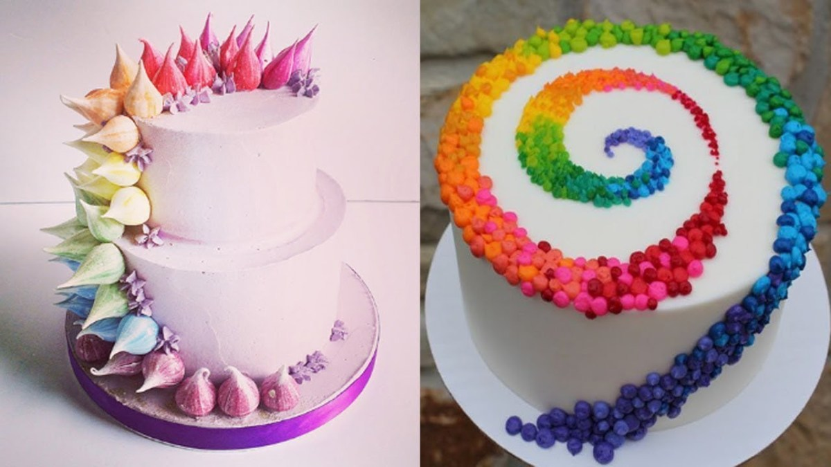 Birthday Cakes For Ladies Top 20 Easy Birthday Cake Decorating Ideas Oddly Satisfying Cake