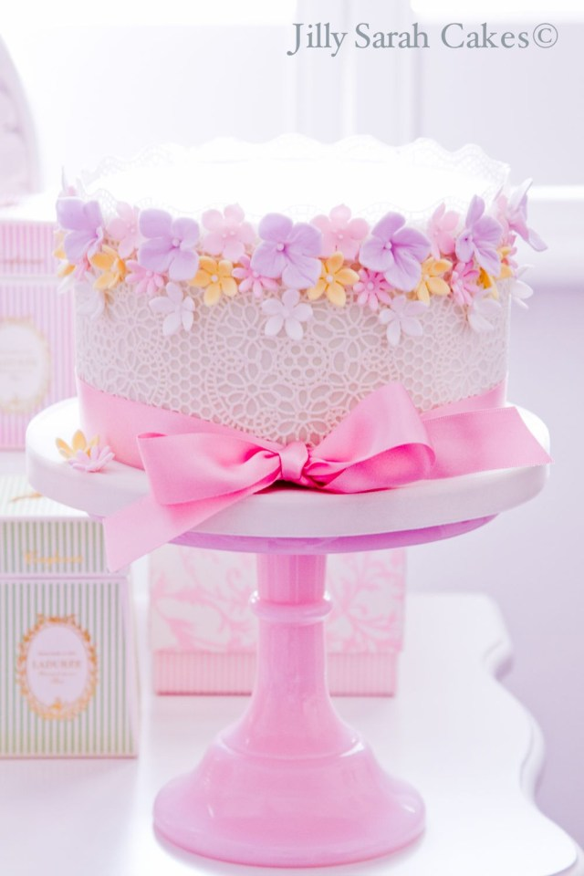 Birthday Cakes For Little Girls Girls Birthday Cakes With Flowers Google Search Cake Stuff