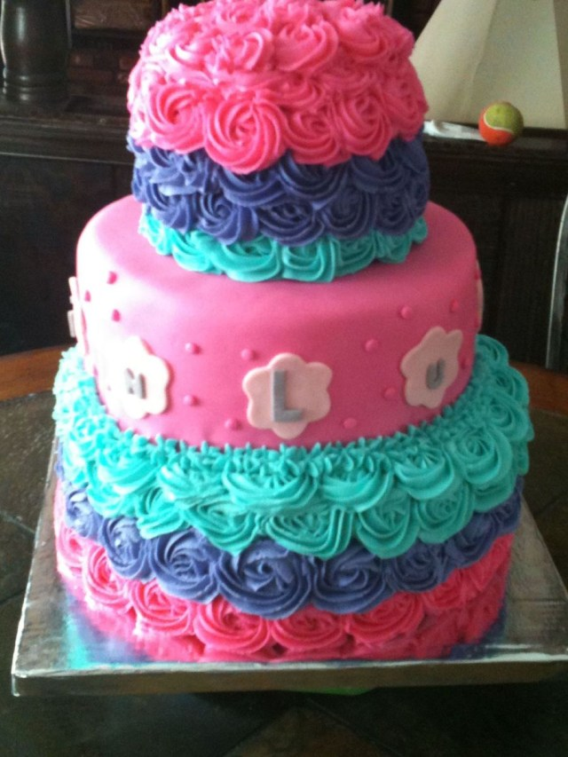 Birthday Cakes For Little Girls This Was Picked For Little Girls Birthday Cake The Mom Saw A Cake