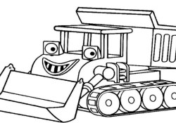 Bob The Builder Coloring Pages How To Draw Bob The Builder Coloring Pages For Kids Learning For