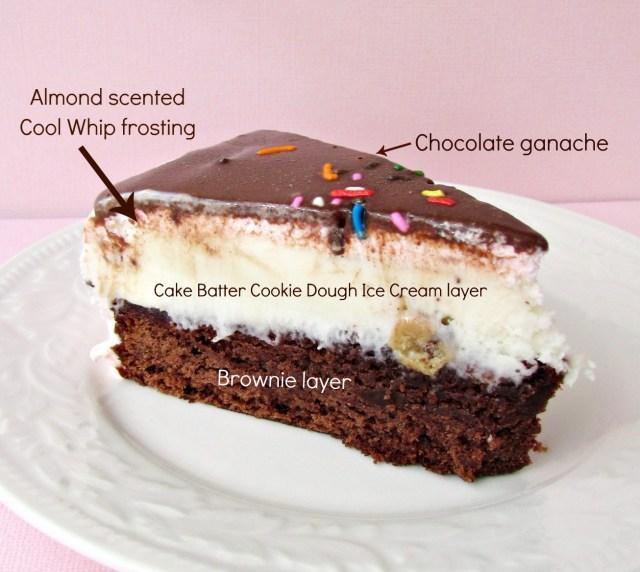 Brownie Birthday Cake Brownie Ice Cream Birthday Cake Crazy For Crust