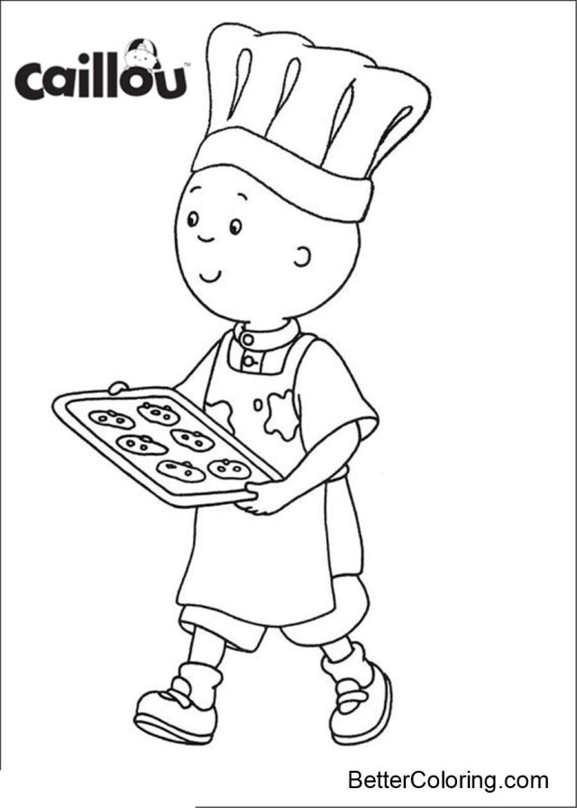 25+ Inspired Picture of Caillou Coloring Pages - birijus.com