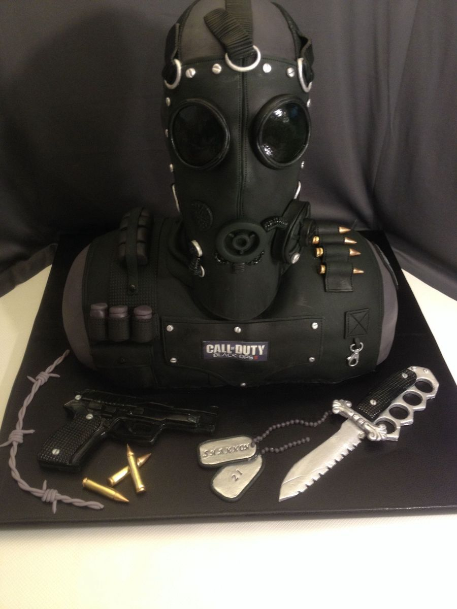 Excellent Call Of Duty Birthday Cake Call Of Duty Cake Made This For My Funny Birthday Cards Online Inifodamsfinfo
