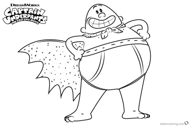21+ Amazing Picture of Captain Underpants Coloring Pages ...